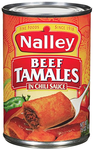 (Nalley Beef Tamales in Chili Sauce, 15 Ounce (Pack of 12))