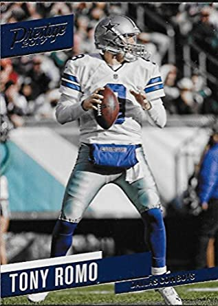 Amazon.com  2017 Panini Prestige  58 Tony Romo Dallas Cowboys ... d5f949b83