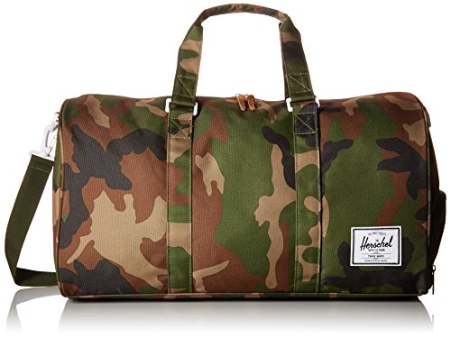 Herschel Novel Duffle Bag, Woodland Camo/Zip, One Size