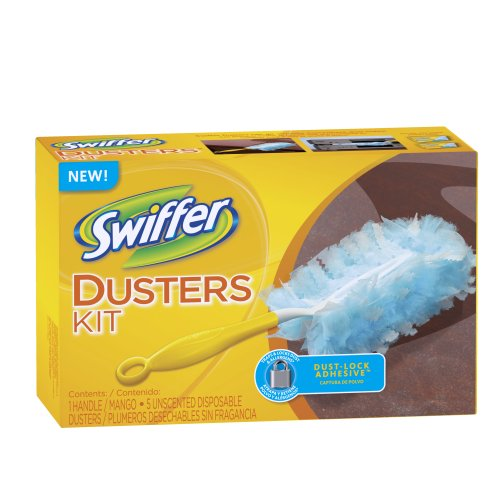 Swiffer Disposable Cleaning Dusters, Unscented Starter Kit (Pack of 2) (Packaging May Vary) by Swiffer