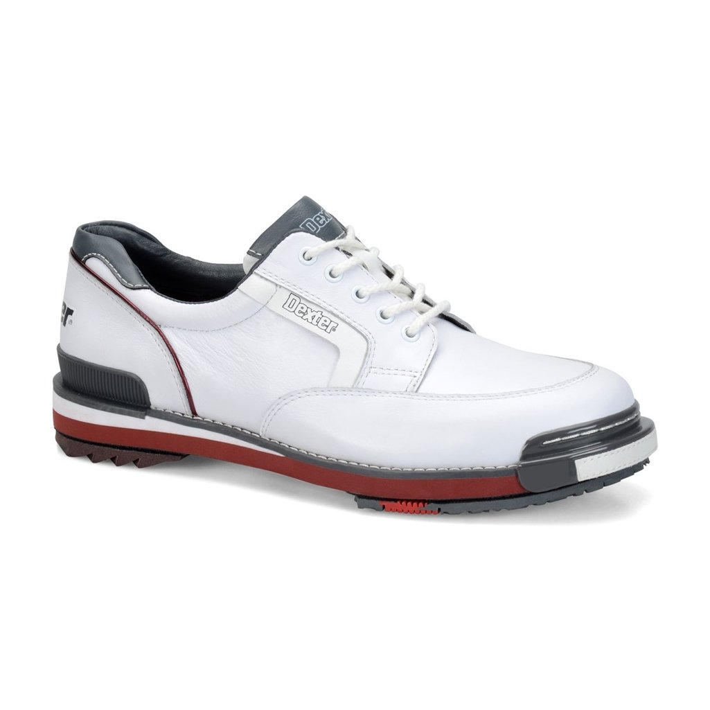 Dexter SSTレトロボーリング靴メンズ B01HDUY1PY Size 9.5|White/Grey/Red White/Grey/Red Size 9.5