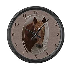 CafePress - Dusty Large Wall Clock - Large 17 Round Wall Clock, Unique Decorative Clock