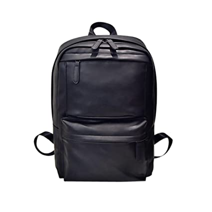 ecea4fb27a09 Amazon.com: Outsta Leather Travel Backpack,Men's Women's Laptop ...