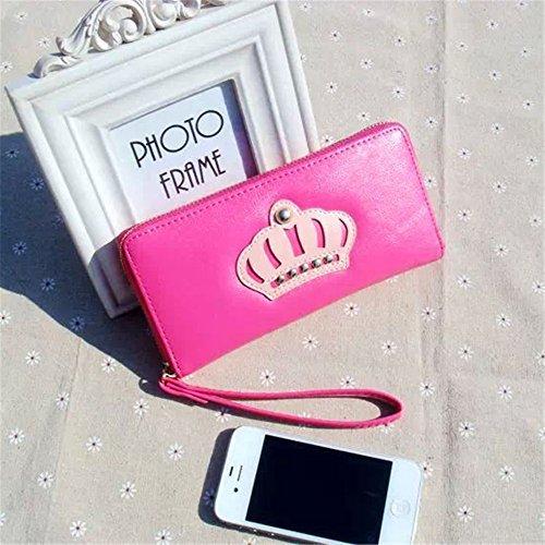 GD-DOLD womens card holder purse money clip wallets Big Crown Purse