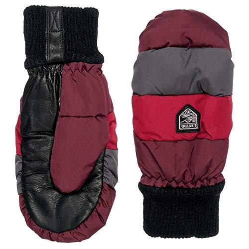 (ヘスタ) Hestra レディース 手袋?グローブ Swisswool Merino Loft Mittens - Leather [並行輸入品]