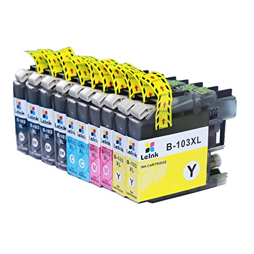 LC103 Ink Cartridge 10 Pack Compatible with Brother MFC J245 J870DW J4310DW J4410DW J4510DW J4610DW J4710DW J6520DW J6720DW J6920DW Printer Photo #5