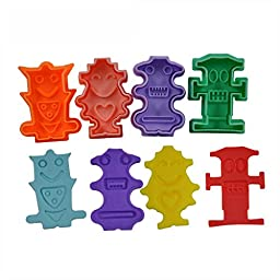 FOUR-C Cookie Cutters Cartoon Model Cookie Molds Cutter Set for Cookie Making Color Colorful