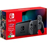 Nintendo Switch Console [Grey] with Mario Kart 8 Deluxe + Switch Online 3 Month Bundle