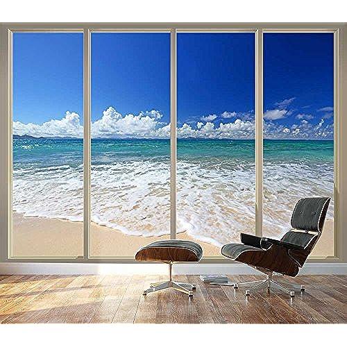 Wallpaper Beach Amazon Wall26 Large Wall Mural Tropical Sliding Glass
