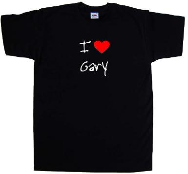 I Love Heart Gary T-Shirt