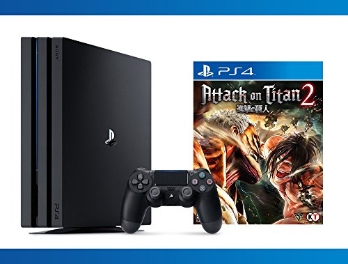 Playstation 4 Pro 1TB Console + Attack on Titan 2 + NBA 2k17 Bundle ( 3 – Items )