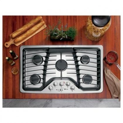stainless steel 36 gas cooktop - 3