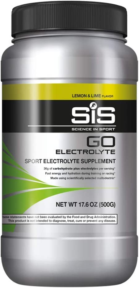 SIS Electrolyte Powder, 36g Carbohydrates to Boost Endurance, Electrolytes to Enhance Hydration & Reduce Fatigue, Energy Drink Powder for Running, Cycling, Lemon & Lime - 1.25 lb