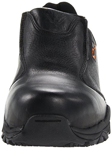 Thorogood Mens Slip On Safety Toe Work Shoe Black hjLRh
