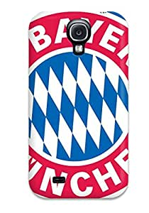 Hot Special Skin Case Cover For Galaxy S4, Popular Bayern Munchen Fc Logo Phone Case