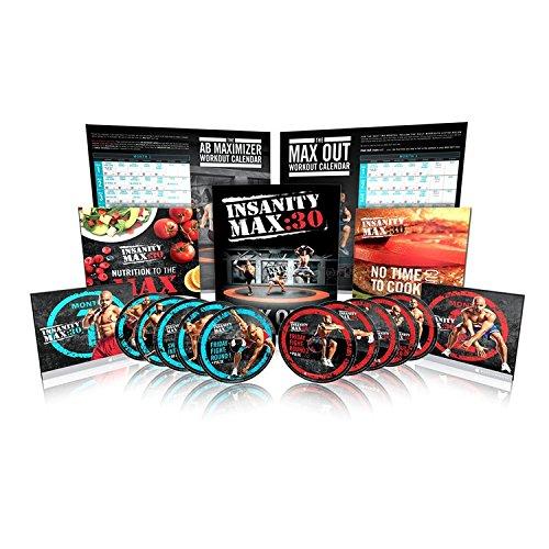 (Shaun T's INSANITY MAX 30 Base Kit -13 DVD Workout)