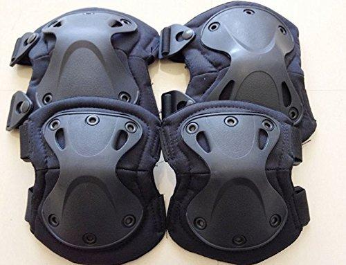 XTAK type SWAT elbow knee protector elbow pad kneepad black elbow pads knee pads (japan import) by Tiger