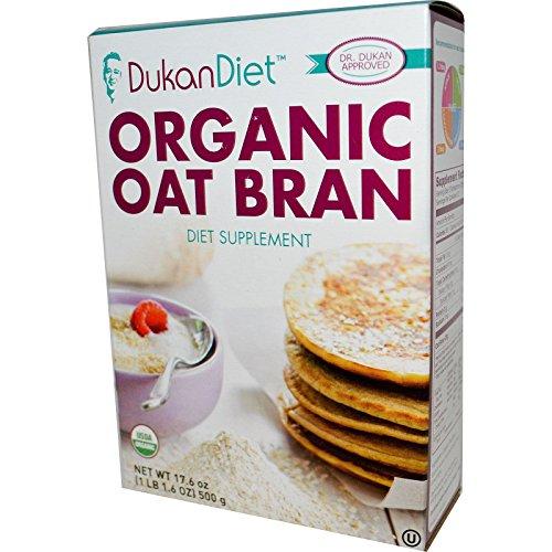 Organic Oat Bran 17.6 Ounce Pkg by Dukan Diet