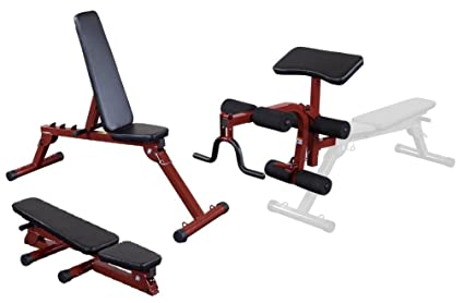 Amazon Com Best Fitness By Body Solid Folding Fid Bench With Leg