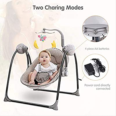 Children Rocking Chair Wbdd Swing Electric Baby Cradle and