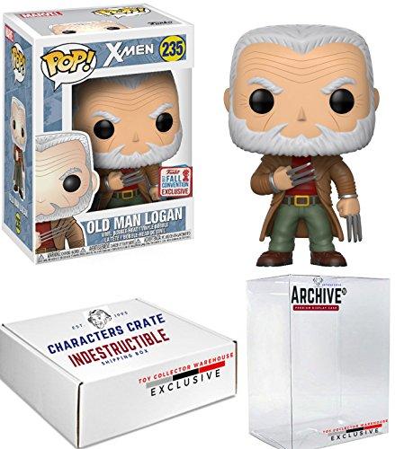 Funko Pop! NYCC Marvel Old Man Logan, Limited Edition Fall Convention Exclusive, Concierge Collectors Bundle