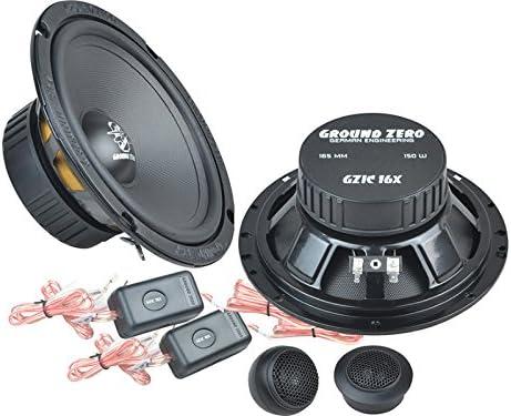 ab 5//2006 Einbauort vorne : Ground Zero Iridium Lautsprecher Kompo-System 300 Watt Ford Galaxy // hinten : T/üren WA6