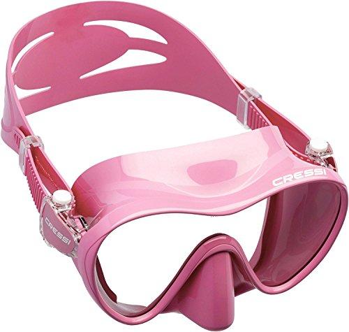 Cressi Mask - Cressi F1 Frameless Mask, Pink