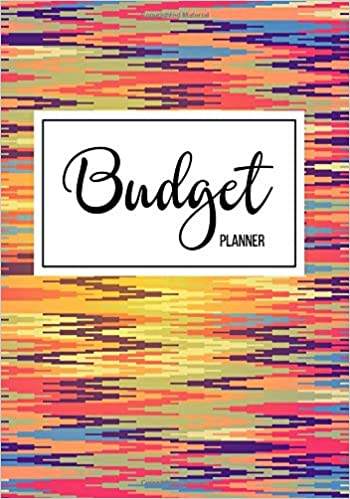 amazon com budget planner financial planning journal monthly