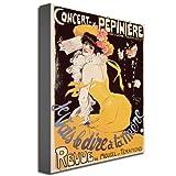 Concert de la Pepiniere, 1902, 24x32-Inch Canvas