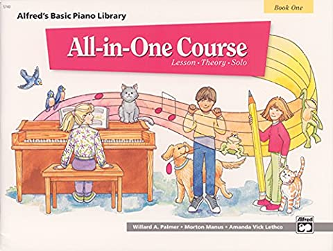 All-in-One Course for Children: Lesson, Theory, Solo, Book 1 (Alfred's Basic Piano Library) - Sequential Art