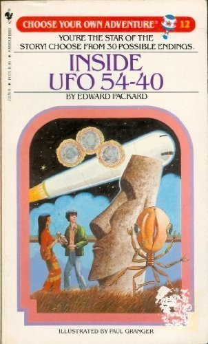 Inside UFO 54-40 (Choose Your Own Adventure #12) for sale  Delivered anywhere in USA