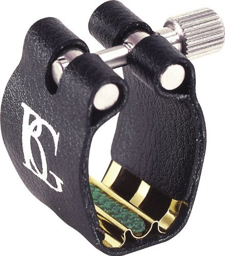 BG L4 SR Ligature with Cap, Bb Clarinet, Super Rev, Gold 29165