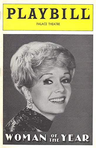"Debbie Reynolds""WOMAN OF THE YEAR"" Kander & Ebb/Marilyn Cooper 1983 Broadway Playbill"