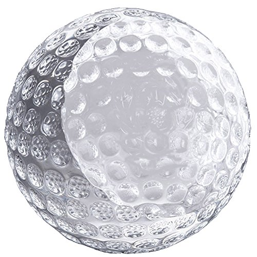 Optical Crystal Golf Award - Awards and Gifts R Us Customizable Optical Crystal Golf Ball Paperweight, includes Personalization