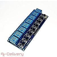AZDelivery ⭐⭐⭐⭐⭐ 8-Relais Modul 5V mit Optokoppler Low-Level-Trigger für Arduino