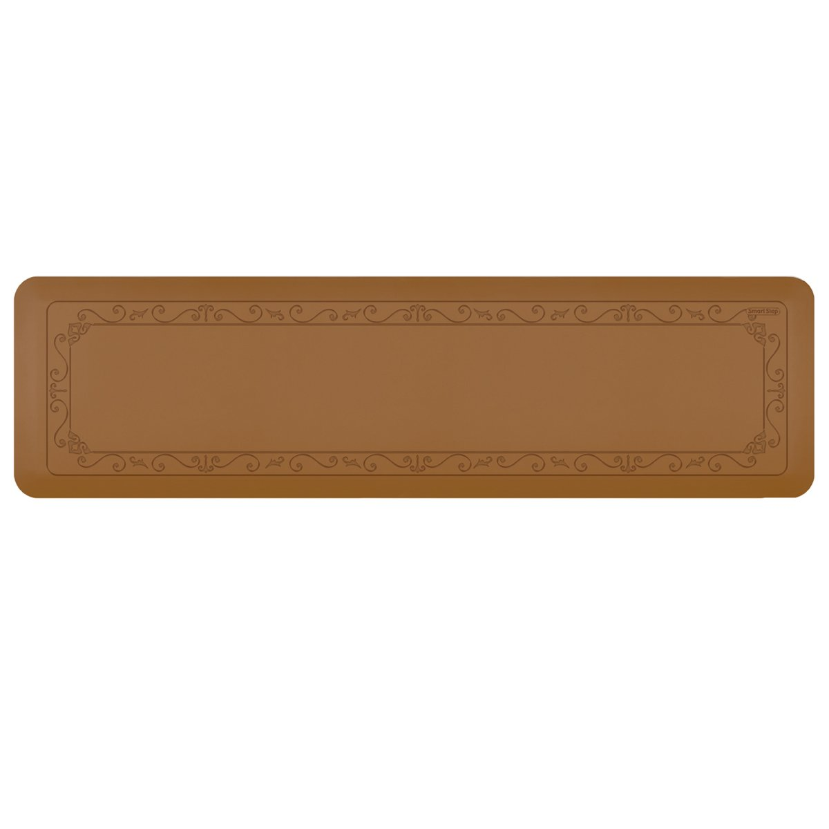Smart Step Home Collection Fleur-de-Lys Design Mat, 72-Inch by 20-Inch, Tan by Smart Step Therapeutic Flooring