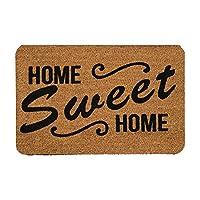 Tapete de Entrada, Design Home Sweet Home Hogar Dulce Hogar, 40X60 cm Decoración Hogar Rug Helio Hola Bienvenidos Welcome