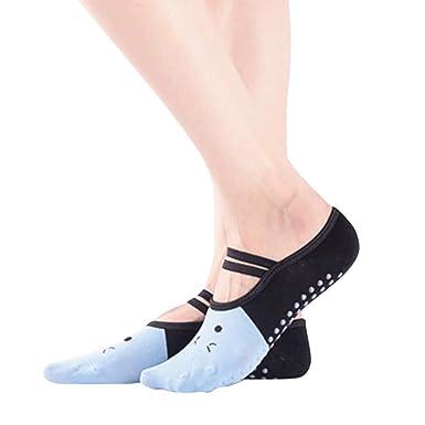 Amazon.com: GateLie - Calcetines de yoga antideslizantes ...