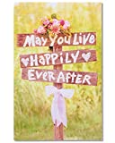 American Greetings Happily Ever After Wedding Card with Glitter