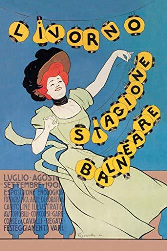 1901 Wallpaper - Buyenlarge Livorno Seaside Season 1901 by Leonetto Cappiello Wall Decal, 48