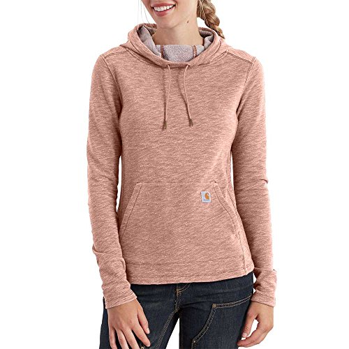 Used, Carhartt Women's Newberry Cowl Hoodie, Misty Rose, for sale  Delivered anywhere in USA