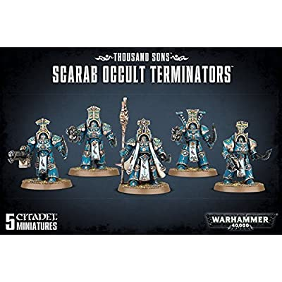 """Games Workshop 99120102066"""" Thousand Sons Scarab Occult Terminators: Toys & Games"""