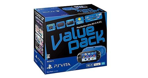 PlayStation Vita Value Pack Wi-Fi model Blue/Black: Amazon.es ...