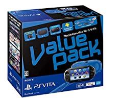 PlayStation Vita Value Pack Wi-Fi Blue/Black