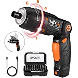 Best Cordless Screwdrivers - Electric Screwdriver, SDH13DC Cordless Rechargeable Screwdriver 3.6V 2.0Ah Review