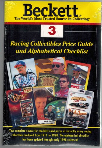 Beckett Racing Price Guide and Alphabetical Checklist (Beckett Racing Collectibles Price Guide)
