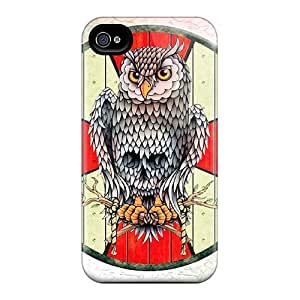 Tpu Dsorothymkuz Shockproof Scratcheproof Viking Shield Hard Case Cover For Iphone 4/4s