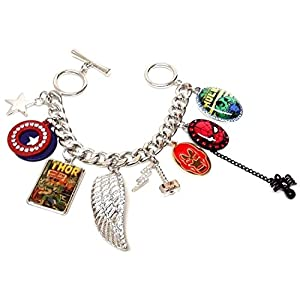 Marvel Comics Superhero Charm Bracelet