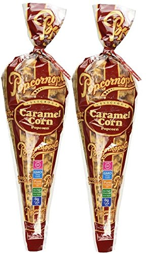 Popcornopolis Caramel Corn Popcorn - 2 Pack