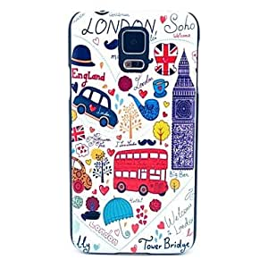 QHY Samsung S5 I9600 compatible Graphic/Cartoon/Special Design Plastic Back Cover